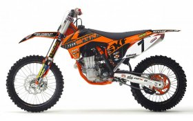 KTM 2013 STR Racing Team Graphics Kit 65 00 - 17