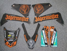 KTM LC4 Jagermeister Graphics