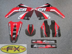 CR 125/250 2013 PTS Graphics Kit