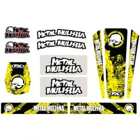 Factory Effex Metal Mulisha Trim Kit