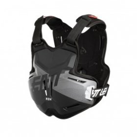 CHEST PROTECTOR 2.5 ADULT ROX BLACK/BRUSHED