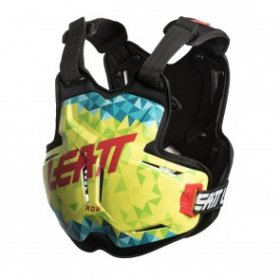 CHEST PROTECTOR 2.5 ADULT ROX LIME/TEAL
