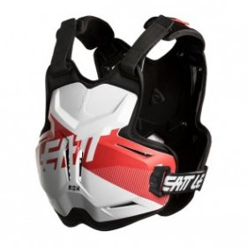 CHEST PROTECTOR 2.5 ADULT ROX WHITE/RED