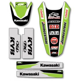 Kawasaki KXF Trim Kit