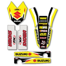 Factory Effex Suzuki RM Trim Kit