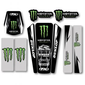 Factory Effex Monster Energy Trim Kit