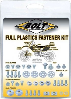 CRF Plastic Bolt Kit