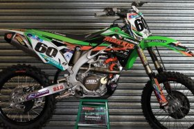 KX 125/250 96-08 2013 LPE Maxxis Team Graphics