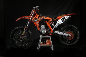 KTM EXC 08-13 STR Racing Team Graphics