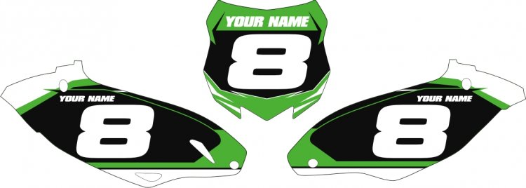 Custom Backgrounds for KXF 250/450