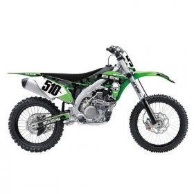 Kawasaki Metal Mulisha Trim Kit