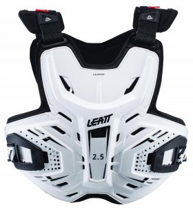 CHEST PROTECTOR 2.5 ADULT WHITE