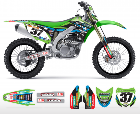 KXF 250/450 04-14 2014 LPE Team Graphics