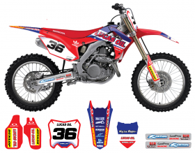 CRF150 2013 Lucas Oil Full Graphics Kit
