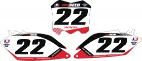 Two Two Backgrounds for CRF 250/450