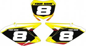 Custom Backgrounds for RMZ 250/450