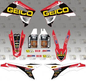 2014 Geico Honda Graphics Kit