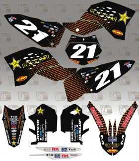 KTM 2014 Rockstar Energy KTM Team Graphics Kit