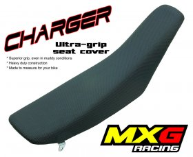 MXG Charger Seat Cover CRF 250 04-09 (BLACK)