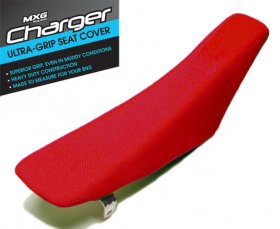MXG Charger Seat Cover CRF 250 04-09 (RED)