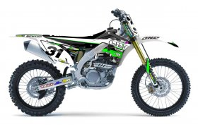 KXF 250/450 04-14 2013 Oakleaf Kawasaki Team Graphics