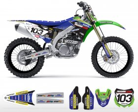 KXF 250/450 04-14 2013 Passion Racing Team Graphics