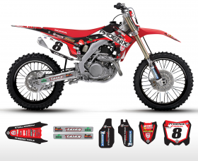 CRF150 2014 Phoenix Tools Full Graphics Kit
