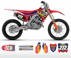 2014 Putoline Honda Team Graphics