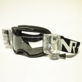 RNR COLOSSUS WVS GOGGLE WITH 48MM FILMS BLACK