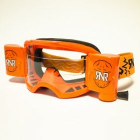 RNR COLOSSUS WVS GOGGLE WITH 48MM FILMS NEON ORANGE