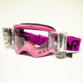 RNR COLOSSUS WVS GOGGLE WITH 48MM FILMS PINK