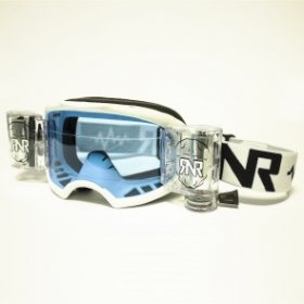 RNR COLOSSUS WVS GOGGLE WITH 48MM FILMS WHITE
