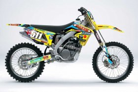 RM 125/250 Maxxis Team Graphics