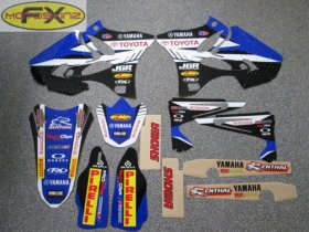 YZ 2013 JGR Team Graphics Kit