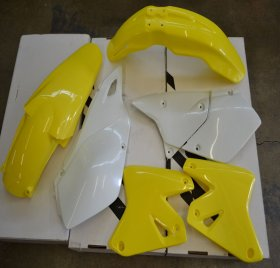 Racetech Plastic Kit for Suzuki DRZ 400