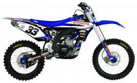 Yamaha JGR Team Graphics Kit