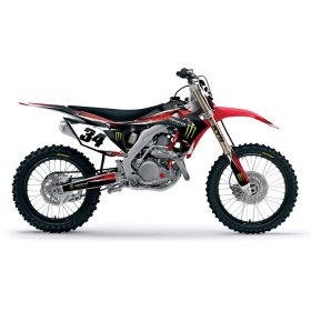CRF150 Monster Energy Shroud Kit