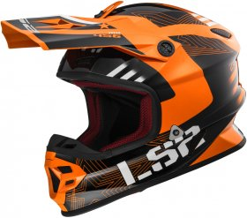 Light Evo MX456 Rallie orange X-Small