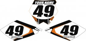 KTM White Monster EXC Custom Backgrounds