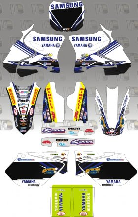 YZ Samsung Yamaha Graphics Kit & Backgrounds
