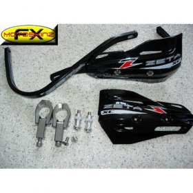 Zeta Black Enduro Supermoto Handguards