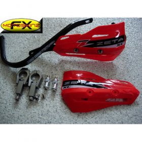 Zeta Red Enduro Supermoto Handguards