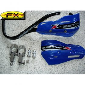 Zeta Blue Enduro Supermoto Handguards